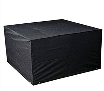 LIVIVO ® Heavy Duty Waterproof Rattan Cube Set Cover with Eyelets and Drawstring - Designed to fit Rattan Garden Furniture Cube Set for all year round protection