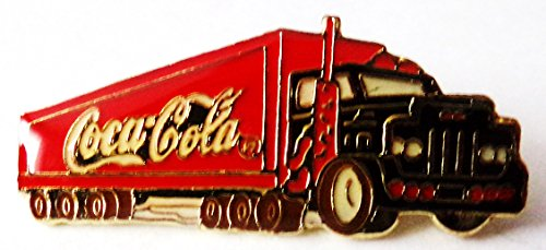 Coca Cola - US Sattelzug - Pin 35 x 14 mm (Kostüme Coca Cola)