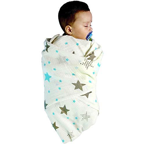 Mantas Cuna Algod/ón 120x120 Muselinas Beb/é Gasas Para Beb/és Gran Idea Para Un Regalo Mantas Beb/é Reci/én Nacido Mantitas Para Beb/és Baby Lovers