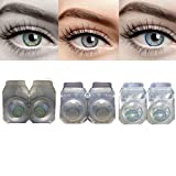 Iconic Eye® (green,grey,dark blue) Monthly Contact Lens
