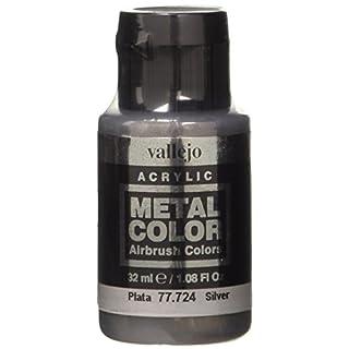 Acrylicos Vallejo 32 ml Metal Color - Silver