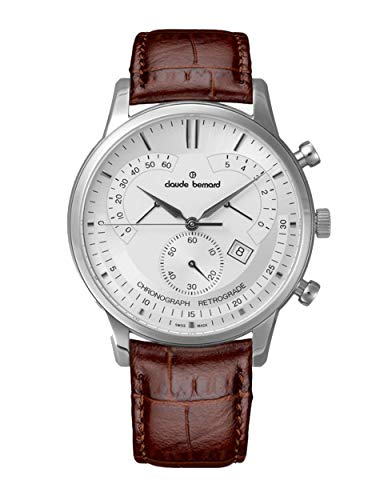 Claude Bernard by Edox Chronograph Retrograde Mens Watch 01506.3.AIN Swiss Made