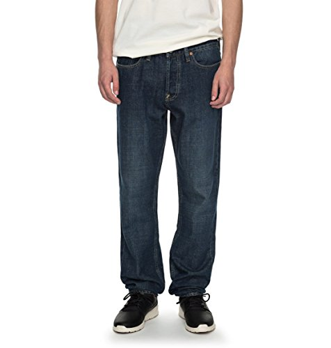 Herren Jeans Hose DC Worker Straight Jeans (Fit Hose Dc-straight)