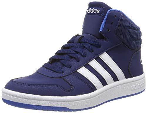 adidas Unisex-Erwachsene Hoops MID 2.0 K Basketballschuhe, Mehrfarbig (Multicolor 000), 38 2/3 EU
