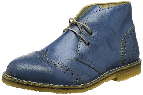 FLY London Damen Cace927fly Kurzschaft Stiefel Blau (denimbeige)