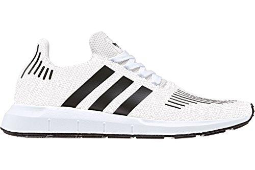 adidas Swift Run, Chaussures de Running Homme Blanc Cassé (Ftwr White/core Black/medium Grey Heather)