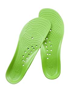 BackJoy StandRight Comfort Soles Men (M9-M12, Lime Green)