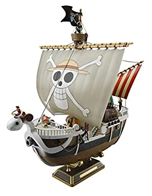 Modèle animeBandai Hobby Going Merry Maquette de Bateau One Piece Gold, Meli, Bateau Pirate, Version de montageA++