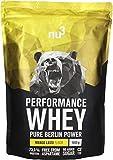 nu3 - Whey Protéines Performance / 1kg / Mango Lassi/Proteine destinée à la prise de masse musculaire/Excellente solubilité et délicieuse saveur mangue/Haute teneur en proteines