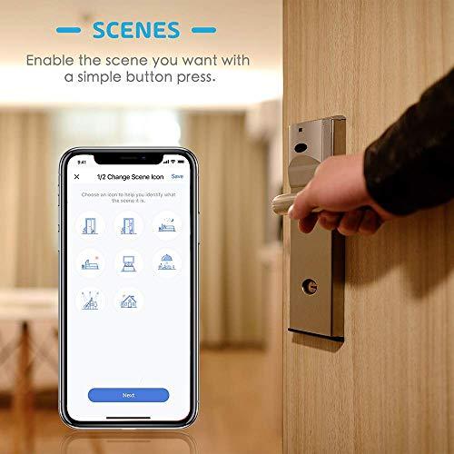 Enchufe Inteligente 16A 3680W,  con Control Remoto Meross app,  Compatible con Alexa,  Google Assistant y SmartThings,  Wi- Fi Smart Plug,  MSS210. Paquete de 3
