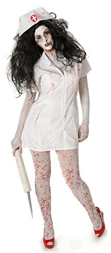 My illusions psycho zombie infermiera donna adulto horror costume halloween