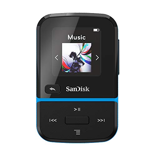 SanDisk Clip Sport Go - Reproductor MP3 de 32 GB Azul
