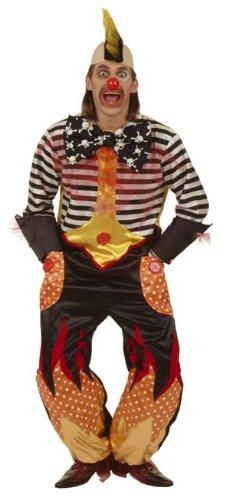 aky Clown Größe 56 (Freaky Clown Kostüme)
