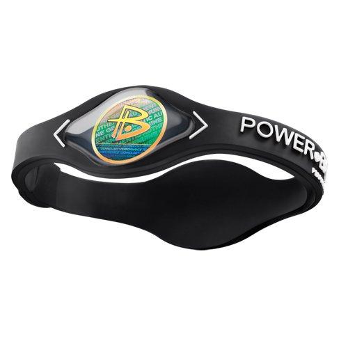 Power Balance Silikon Wristband, black / white, XL, GWSA09BK00WTXP (Power Balance Armband Xl)