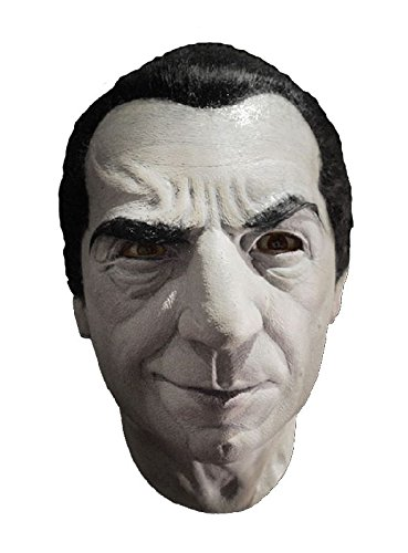 Vampir Kostüm Graf - Bela Lugosi Dracula Maske zum Vampir Graf Kostüm Halloween