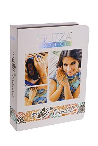 Knorrtoys GL7824 Glitza Fashion - Deluxe Set Oriental, Temporäre Tattoos für junge Erwachsene