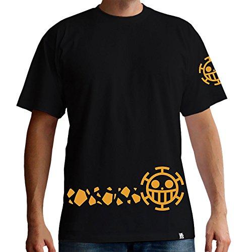 ONE PIECE - T-Shirt Basic Homme Trafalgar New World (XS) : TShirt , ML