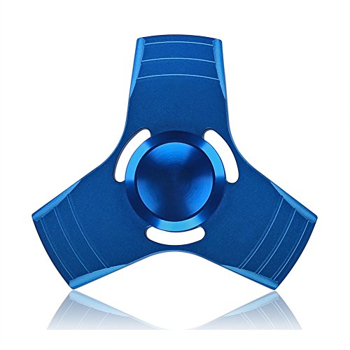 Preisvergleich Produktbild GOLDTIME Fidget Toys Hand Spinner Finger Spielzeug für Kinder und Erwachsene(Blau)