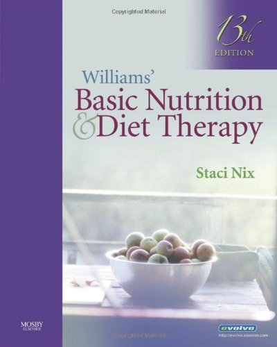 Williams' Basic Nutrition & Diet Therapy by Staci Nix (2008-10-10) par Staci Nix