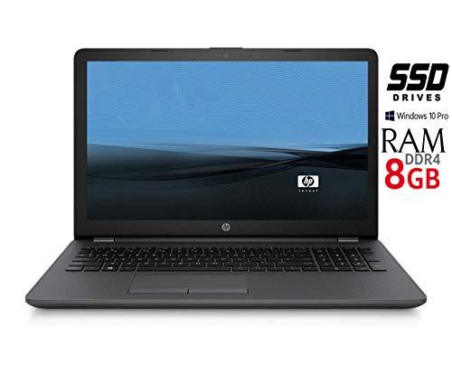 Notebook HP 255 G6 SSD da 240GB CPU Amd 7 Gen. con scheda grafica Radeon Memoria 8 GB di RAM SSD DA 240GB Display 15.6 HD antiriflesso LED Windows 10