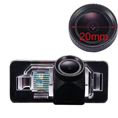 Kalakus Cámara de Marcha Atrás Resistente Al Agua con 1280 x 720 Píxeles Visión Nocturna Asistente de Aparcamiento Sistema de Marcha Atrás para BWM 3/1/5 Series/X5/X6/E53 Anno/Mini Cooper S R56