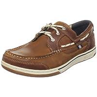 Sebago TRITON THREE EYE FGL, Men Boat Shoes, Brown Cognac, 10 UK (44.5 EU)