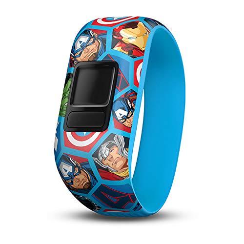 Garmin Kinder Jr. 2 Größe Vivofit Jr.2 Wechselarmband, Marvel Avengers, XS