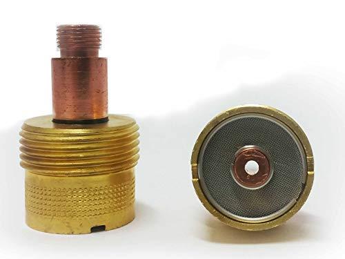Jumbo Gaslinse XL 1,6mm Ø für SR9 SR20 SR25 HP9 WP80 SR-25 u.ä. TIG/WIG Brenner (Jumbo Wig-brenner)