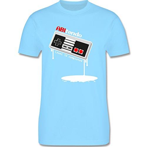 Abi & Abschluss - ABItendo - Level 13 completed - Herren Premium T-Shirt Hellblau