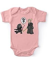 Jungen Baby Star Wars Luke Skywalker Force Ist Stark Schlafanzug Neugeborenes