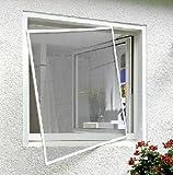 Xclou Fliegengitter Fenster Alu-Rahmen