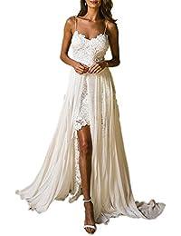 97f859726b8 UFACE Robes de soirée Femme 2019 été Venetia Dentelle Chic Guipure Manches  Mid Floor-Length