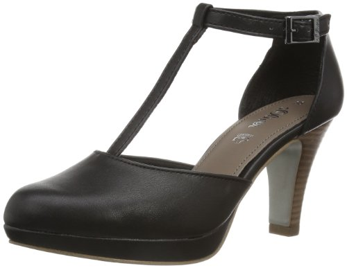 s.Oliver Casual 5-5-24407-22 Damen Pumps, Schwarz (Black 1), EU 41