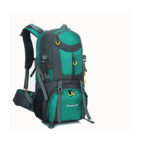 50L40L60L Pacchetto di campeggio impermeabile dello zaino del sacchetto di arrampicata di lake blue