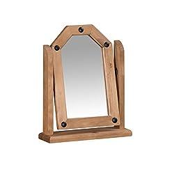 Mercers Furniture Corona Single Mirror - Pine