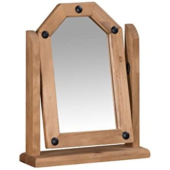 Mercers Furniture Corona Single Mirror Pine Amazon Co