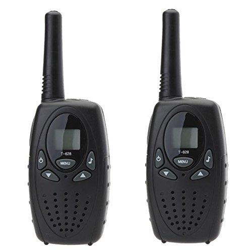 Talkie-walkie longue portée 3 à 5 km 8 canaux écran LCD push to talk