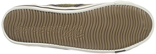 Mustang 1099-308, Baskets Basses Femme Violet - Violett (839 beere)