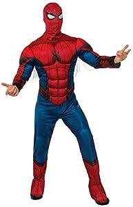 Marvel - Disfraz de Spiderman para hombre, Talla M/L adulto (Rubie
