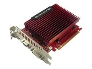 Gainward 9500GT carte graphique nvidia pCI-e, 1Go de mémoire vive dDR2 passif, hDMI, 1 gPU