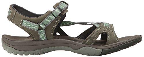 Merrell Azura Strap, Chaussures Aquatiques Femme Vert (Medium Green)