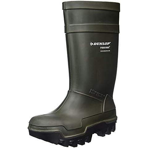 Stivali da lavoro Dunlop Purofort Thermo + massima sicurezza termici verde scuro / nero, S5 - C662933
