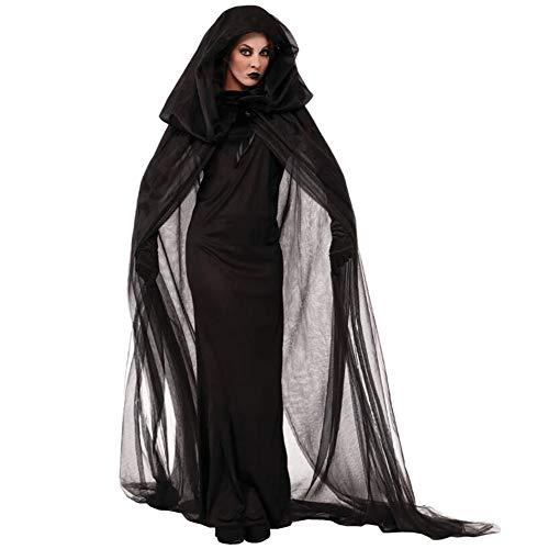 Moderne Sensenmann Kostüm - XIONGDA Halloween Cosplay Kostüm für