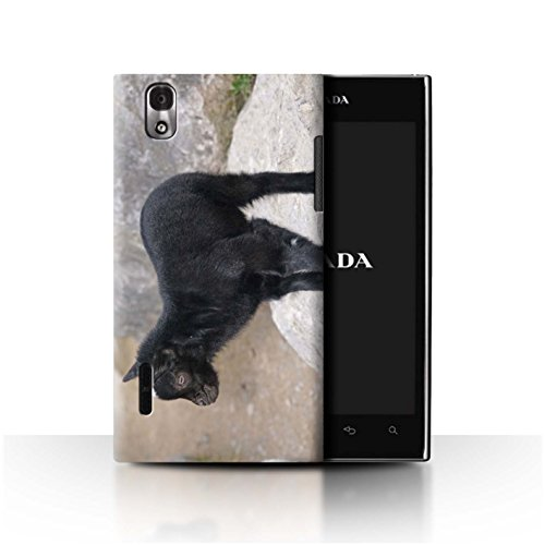 Stuff4® Hülle/Case für LG Prada 3.0/K2/P940 / Kind/Ziegenbock Muster/Niedlich Haustiere Kollektion