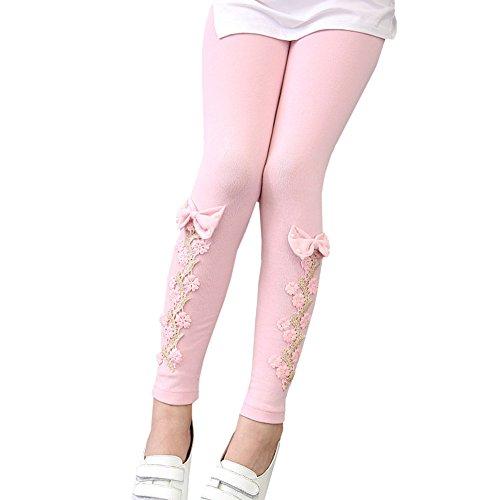 LSERVER-Flower Girl Neun Hose Baby Mädchen Leggins Kinder Baumwolle Mode Legging Kinder Herbst Hose Mädchen Leggins