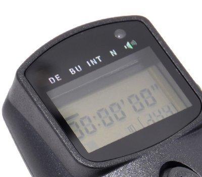 Mehrfachbelichtungs HDR Timer Fernauslöser JJC MET-F für Sony Alpha 33, 55, 65, 77, 100, 200, 300, 350, 450, 500, 550,560, 580, 700, 850, 900, Minolta Dynax / Maxxum AF 7D, 5D, Maxxum/Dynax/AF 9, 7,4, u.v.a. Minolta Maxxum 7d