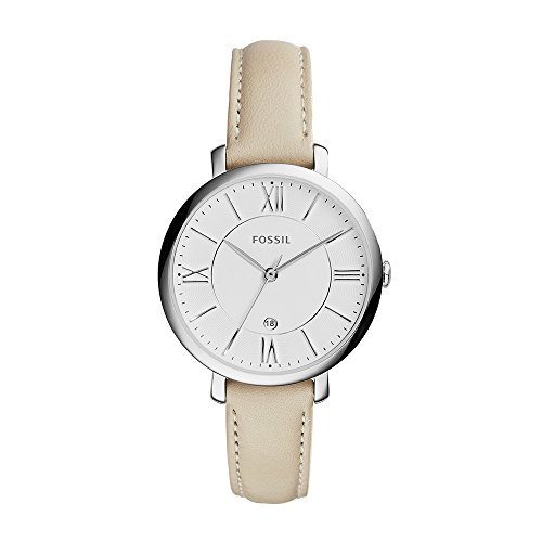 Fossil Jacqueline Analog White Dial Women's Watch - ES3793
