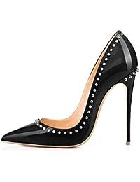 FYM Chaussures - Zapatillas de squash y bádminton de Material Sintético para mujer