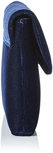 Peter Kaiser Damen Mabel Clutch, 2x14x28 cm Blau (Navy Velvo)