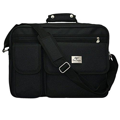 Businestasche Aktentasche Arbeitstasche Schultasche Messenger Bag Tasche Umhängetasche Messenger Bag Schultertasche (Schwarz) - Dragon Scheren